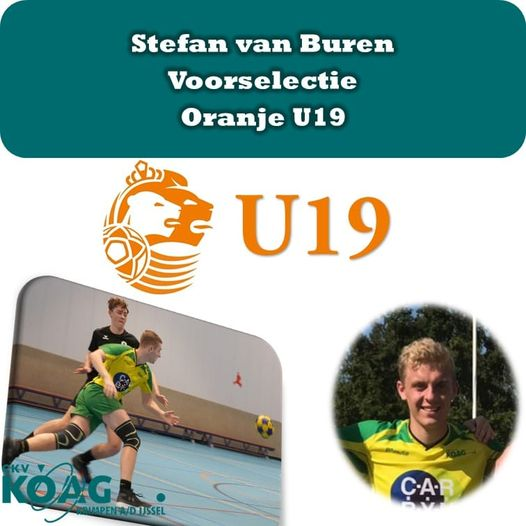 Stefan van Buren - Voorselectie Oranje U19