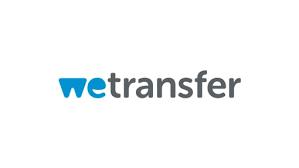 klik op de afbeelding om WeTransfer te starten